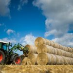French child crushed to death under hay bale