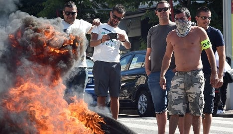 Hard to feel sympathy for French taxi drivers