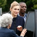 Actress morphs into France's new first lady