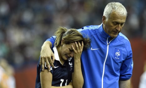 France pipped by Germany on penalties