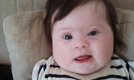 My baby is more than a syndrome: French mum
