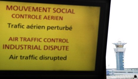 French air traffic controllers set for strike