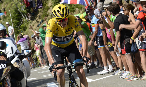 Froome faces suspicion after 'killing' the Tour