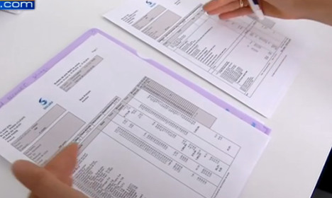 Towards the end of the notorious French payslip