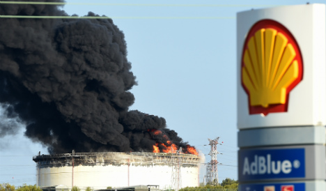 Petrochemical plant fire 'a malicious act'