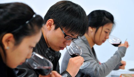 France persuades China to recognise Bordeaux