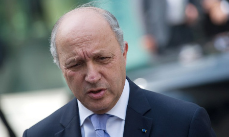 Blood scandal mars Iran trip for French minister