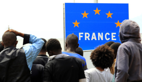 French and British back closing EU's borders