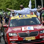 Tour de France stage hit by almighty crash