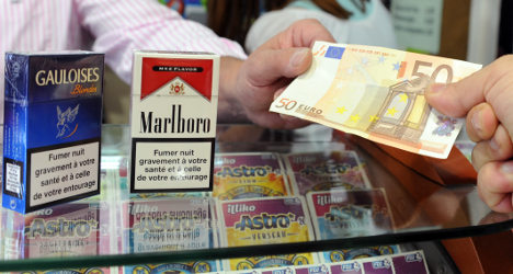 French tobacco sales rise for first time in years