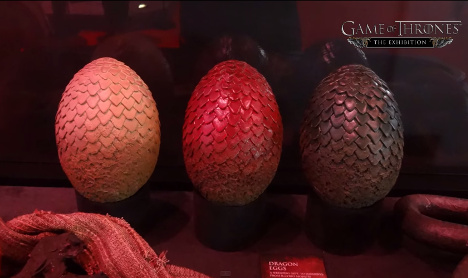 Paris to welcome Game of Thrones exhibition
