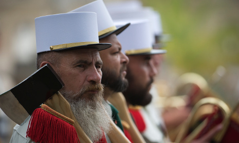 Mythical foreign legion keeps drawing recruits