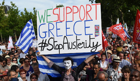 Does France really not need to fear a Grexit?