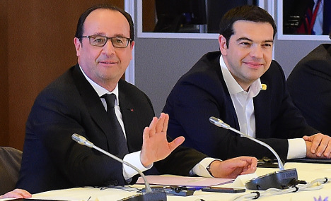 Hollande: Greece deal is a victory for Europe
