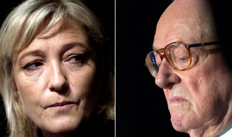 'It's dirty to kill your daddy': Le Pen senior