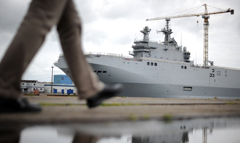 'France will face tough task to sell warships'