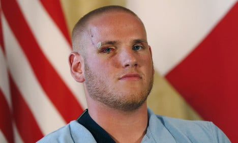 US train hero tipped for top Air Force honour