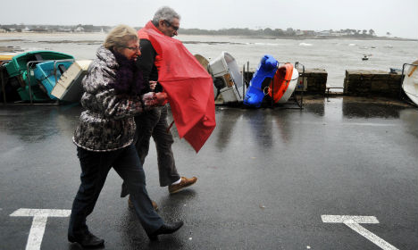 Brittany and Normandy remain on storm alert