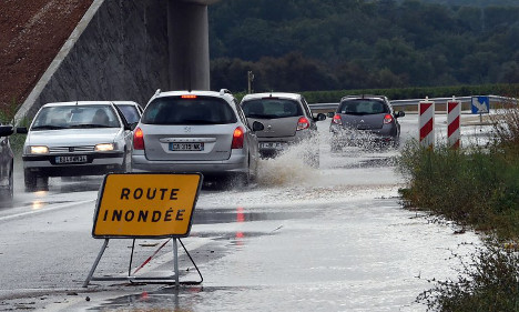 Three dead as storms and floods sweep France