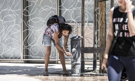 Mercury to top 40C (again) in central France