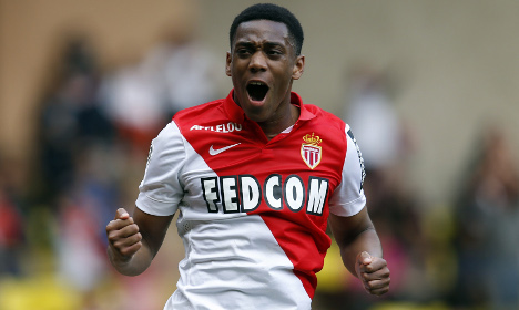 Monaco's Martial to 'sign contract with Man Utd'