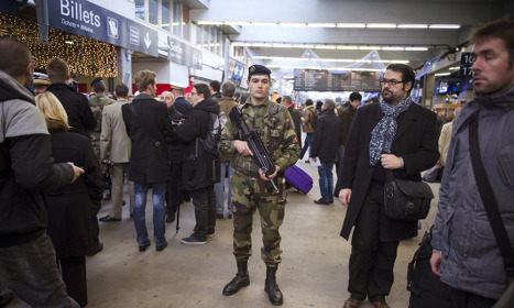 Europe ministers call for more train security