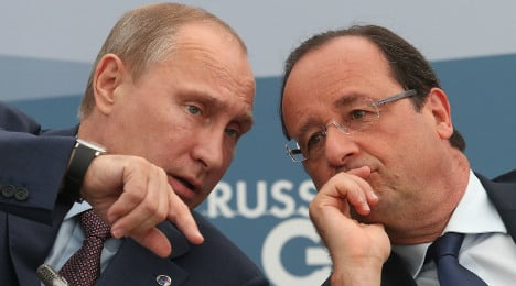 France agrees to repay Russia for warships