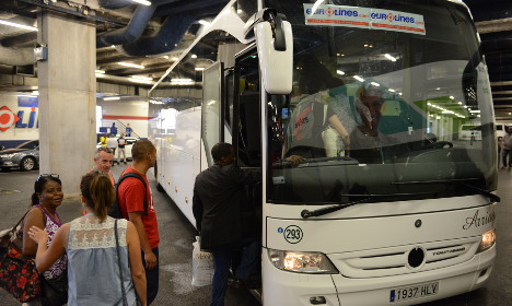 Could coaches overtake train travel in France?