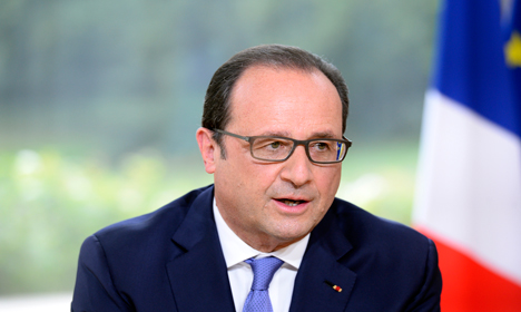 Hollande thanks Obama for US heroes' actions