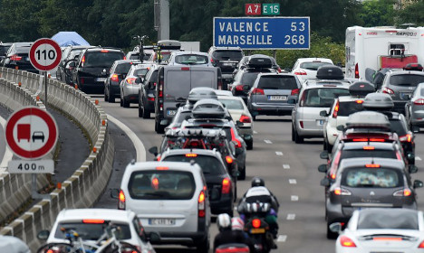 French family forgets child at motorway stop