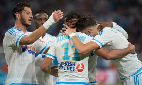 Marseille thrash Troyes in coach Michel's debut