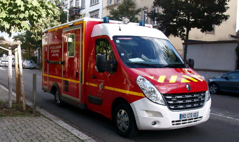French ambulance stolen during rescue operation