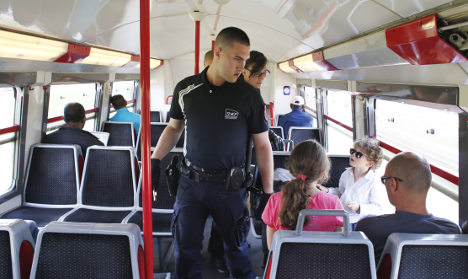 Train security: France could ban passengers