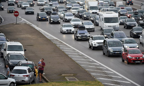 Weekend traffic chaos forecast for French roads