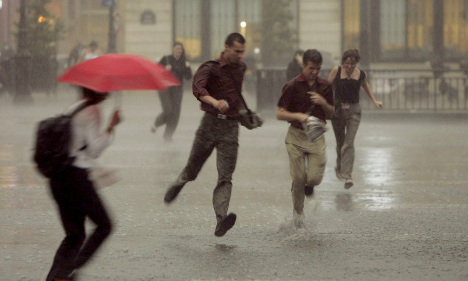 Summer storms to batter south-western France