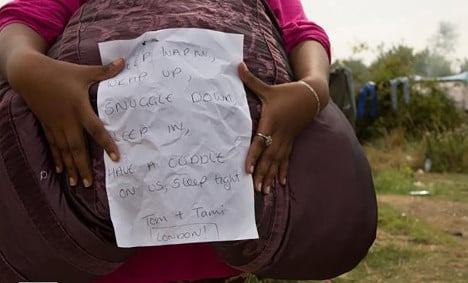 Ashamed Brits mobilize to help refugees in Calais