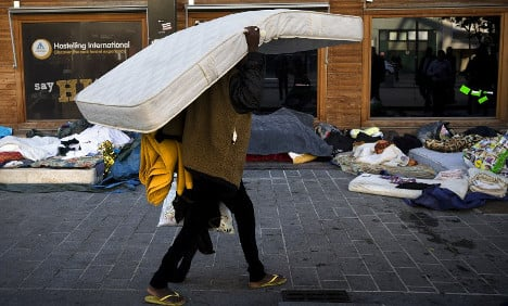 'Airbnb for refugees' comes to Paris
