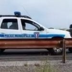French police use car to push disabled man home