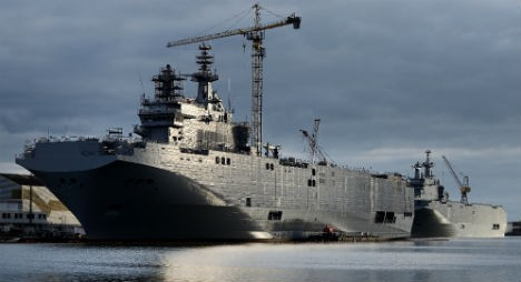Egypt steps in to buy French Mistral warships