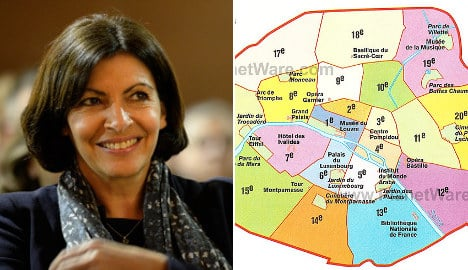 Mayor wants to redraw historic map of Paris