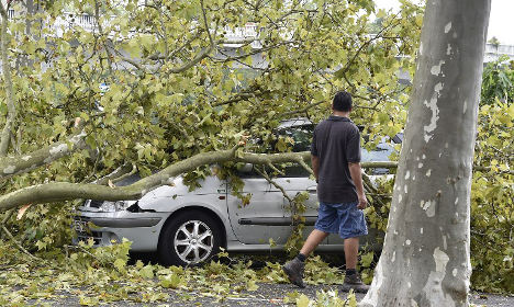 Three dead as violent storms hit central France