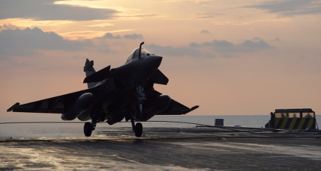 France to target Isis in Syria 'in coming weeks'