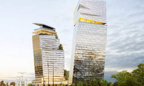 Paris gives green light to 'Leaning Towers'