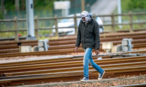 Refugee killed by Eurotunnel freight train