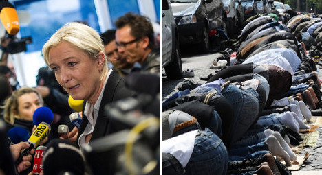 Le Pen goes on trial for Muslim prayers rant