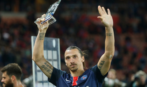 Zlatan makes history as PSG see off Marseille
