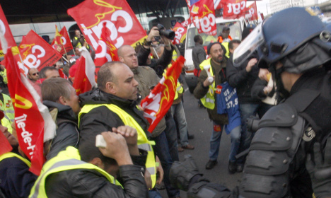 France would be 'chaos' without its trade unions