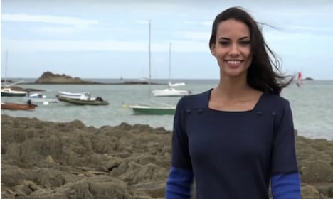 Topless pic sees French beauty queen dethroned