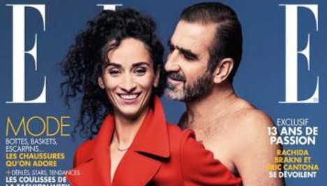Eric Cantona poses nude for French magazine