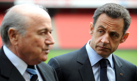 Sarkozy cost United States World Cup: Blatter